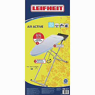 Leifheit AirActive M Ironing Board – Silver 118 x 38cm alt image 4