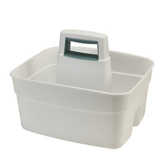 Deep Multipurpose Cleaning Caddy White