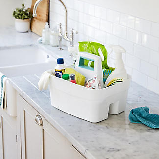 Deep Multipurpose Cleaning Caddy White alt image 2