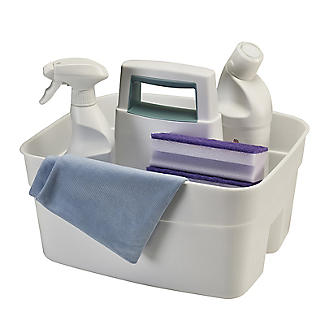 Deep Multipurpose Cleaning Caddy White alt image 3