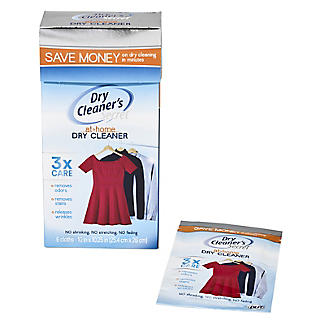Dry Cleaner's Secret At-Home Dry Cleaner Cleaning Cloths - Pack of 6