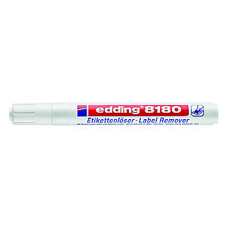 Edding Label Remover Pen for Removing Sticky Labels Glue and Stickers