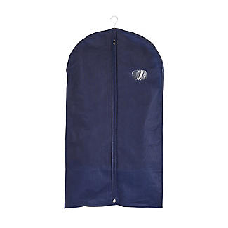 Suits & Tops Zipped Protective Clothes Cover - Navy