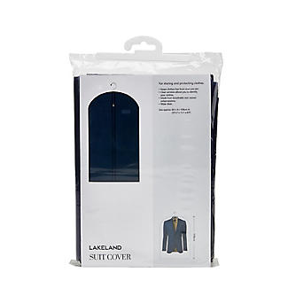 Suits & Tops Zipped Protective Clothes Cover - Navy alt image 2