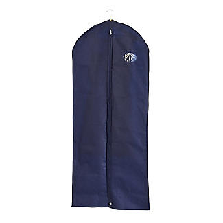 Suits & Dresses Zipped Protective Clothes Cover - Navy alt image 1