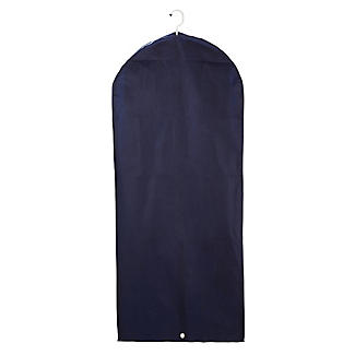Suits & Dresses Zipped Protective Clothes Cover - Navy alt image 4