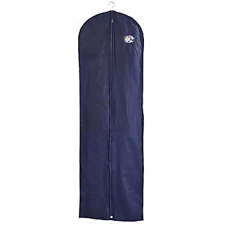 Full Length Dress Zipped Protective Clothes Cover - Navy
