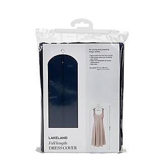 Full Length Dress Zipped Protective Clothes Cover - Navy alt image 2