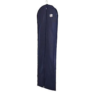 Full Length Dress Zipped Protective Clothes Cover - Navy alt image 3