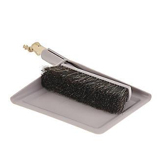 Smart Microfiber System Natural Bristle Dustpan and Brush Set alt image 2