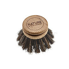 Smart Microfiber System Natural Fibre Mix Dish Brush Replacement Head