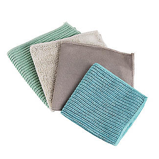 Smart Microfiber System Microfibre Cleaning Cloths - Pack of 4