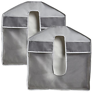 Umbra Stash Cloakroom Organiser Grey – Pack of 2