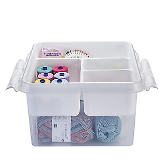SmartStore Deco Plastic Sewing Box with Insert 8L alt image 3