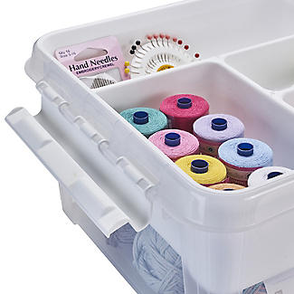 SmartStore Deco Plastic Sewing Box with Insert 8L alt image 6