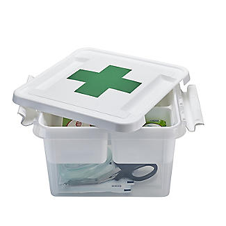 SmartStore Deco Plastic First Aid Box with Insert 8L alt image 2