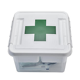 SmartStore Deco Plastic First Aid Box with Insert 8L alt image 4