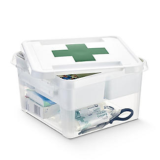 SmartStore Deco Plastic First Aid Box with Insert 8L alt image 5