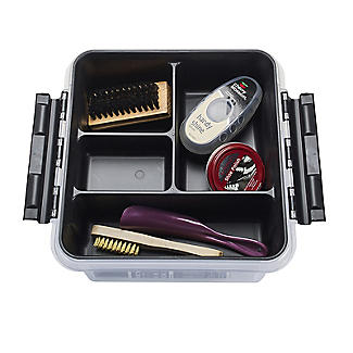 SmartStore Deco Plastic Shoe Care Box with Insert 8L alt image 5