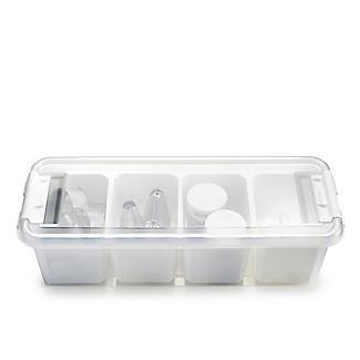 SmartStore Deco Plastic Accessory Box with Insert 3.5L alt image 3