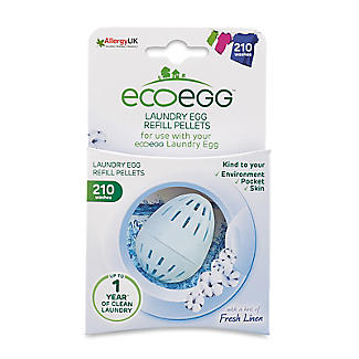 ecoegg Laundry Egg 210 Washes Refill Pellets - Fresh Linen
