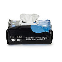 Uniwipe Ultragrime Huge Multipurpose Cleaning Wipes - Pack of 100