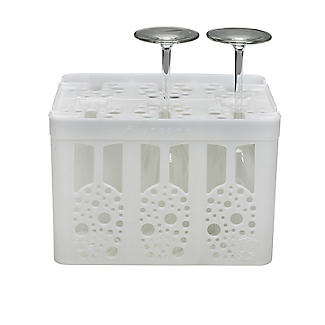 Flute Spa Champagne Flute Storage and Dishwasher Caddy