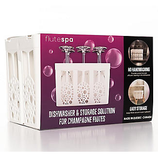 Flute Spa Champagne Flute Storage and Dishwasher Caddy alt image 3