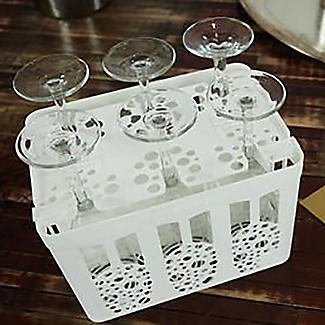 Flute Spa Champagne Flute Storage and Dishwasher Caddy alt image 7