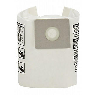 Wet and Dry Vac Replacement Collection Filter Bags – Pack of 5