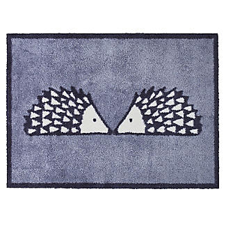 Turtle Mat Scion Kissing Spike the Hedgehog Grey Doormat 85 x 59cm alt image 1