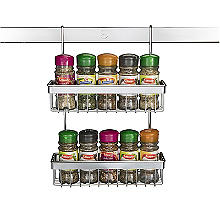 Hahn Metro Chrome 2-Tier Spice Rack 93004