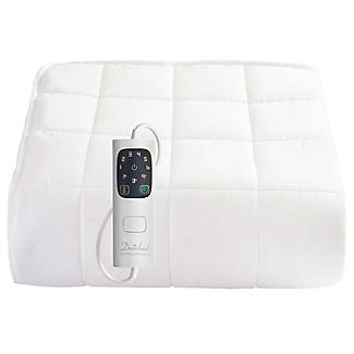 Dreamland Heated Mattress Protector Quilted Cotton Double