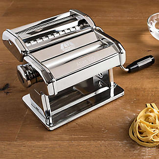Marcato Atlas 150 Pasta Maker Machine Chromed Steel alt image 2