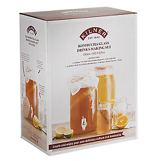 Kilner Kombucha Tea Brewing Kit alt image 3