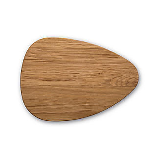 Robert Welch Pebble Chopping Board Solid Oak Small  alt image 1