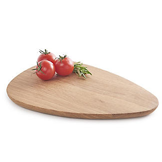 Robert Welch Pebble Chopping Board Solid Oak Small  alt image 5