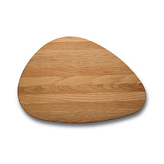 Robert Welch Pebble Chopping Board Solid Oak Large