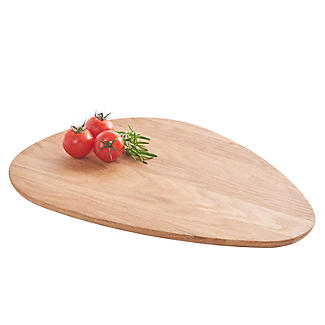 Robert Welch Pebble Chopping Board Solid Oak Large alt image 3
