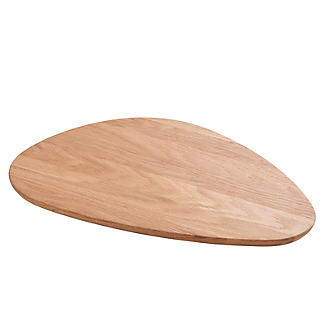 Robert Welch Pebble Chopping Board Solid Oak Large alt image 4