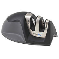 Kitchen IQ Diamond Deluxe Edge Grip 2-Stage Knife Sharpener