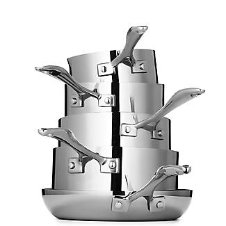 Lakeland 5-Ply Stainless Steel 16cm Lidded Saucepan alt image 6