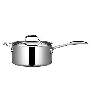 Lakeland 5-Ply Stainless Steel 20cm Lidded Saucepan