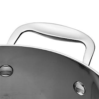 Lakeland 5-Ply Stainless Steel 20cm Lidded Saucepan alt image 3
