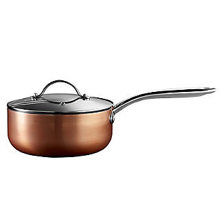 Lakeland 5-Piece Copper-Coloured Non-Stick Pan Set alt image 6