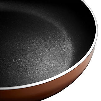Lakeland 5-Piece Copper-Coloured Non-Stick Pan Set alt image 8