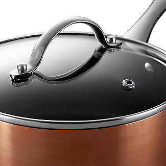 Lakeland 5-Piece Copper-Coloured Non-Stick Pan Set alt image 9