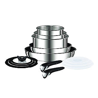 Tefal Ingenio 13-Piece Stainless Steel Pan Set
