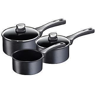 Tefal Expertise 3-Piece Saucepan Set