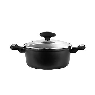 Zyliss Forged Aluminium Non-Stick 24cm Stockpot with Lid